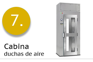 Cabinas duchas de aire